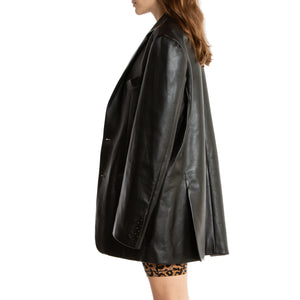 VETEMENTS | TAILORED LEATHER JACKET