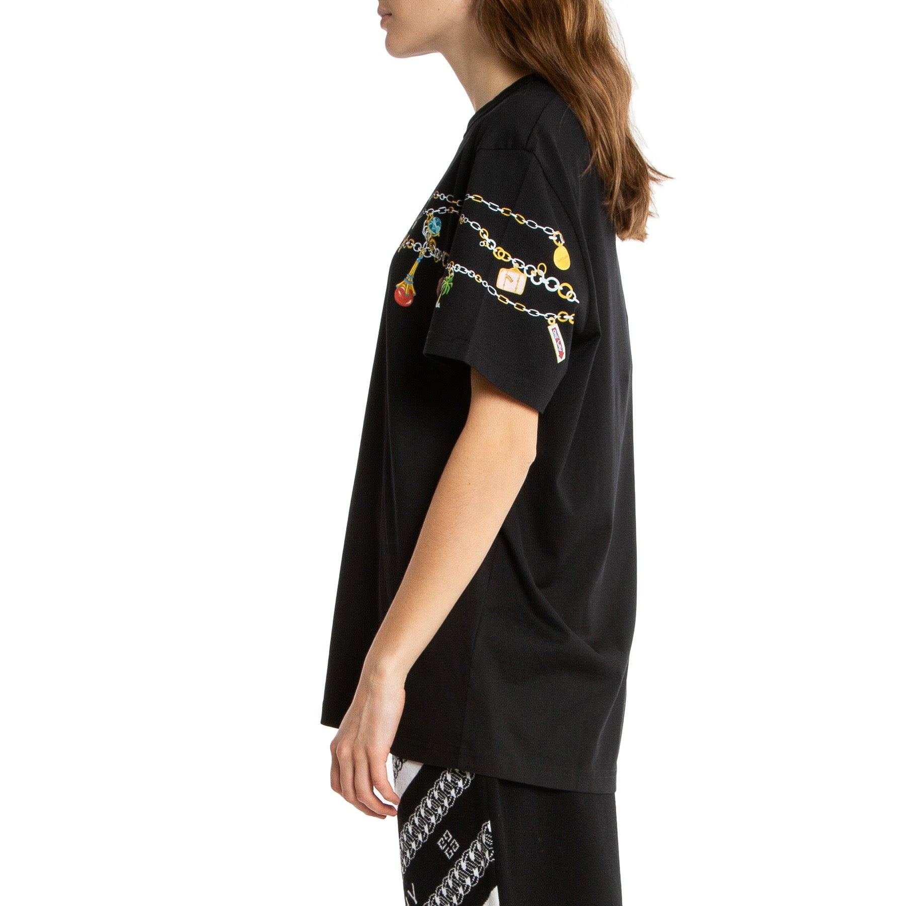 GIVENCHY | CHARMS LOGO SHORT SLEEVE TEE