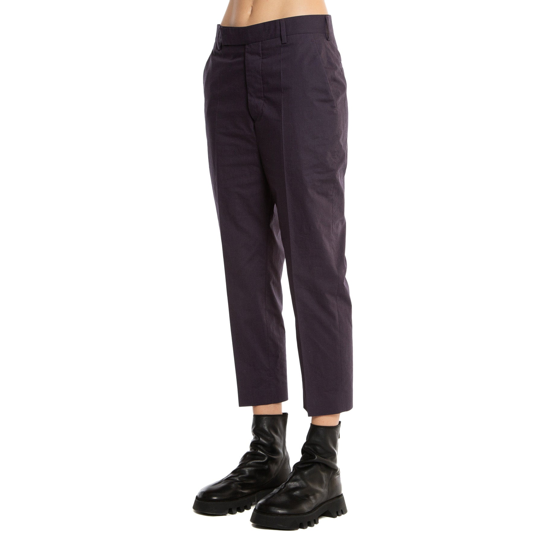 RICK OWENS | CROPPED WORK PANTS