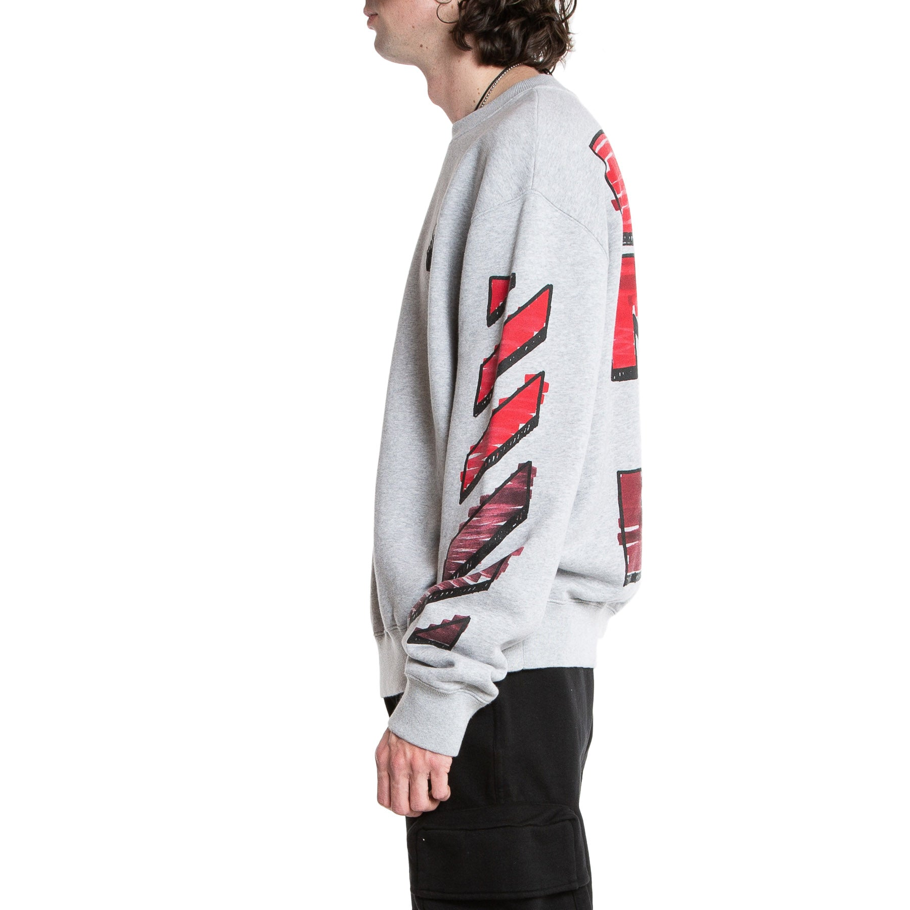 OFF-WHITE | MARKER SLIM CREWNECK