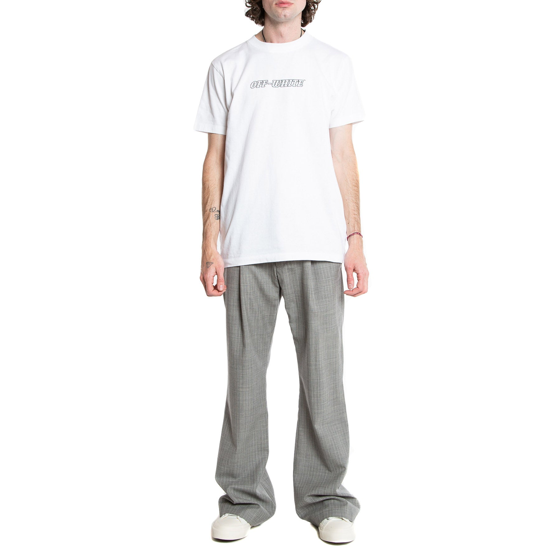 OFF-WHITE | LOW CUT FORMAL PANTS