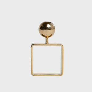 MAXFIELD PRIVATE COLLECTION | CARTIER GOLD SQUARE RING