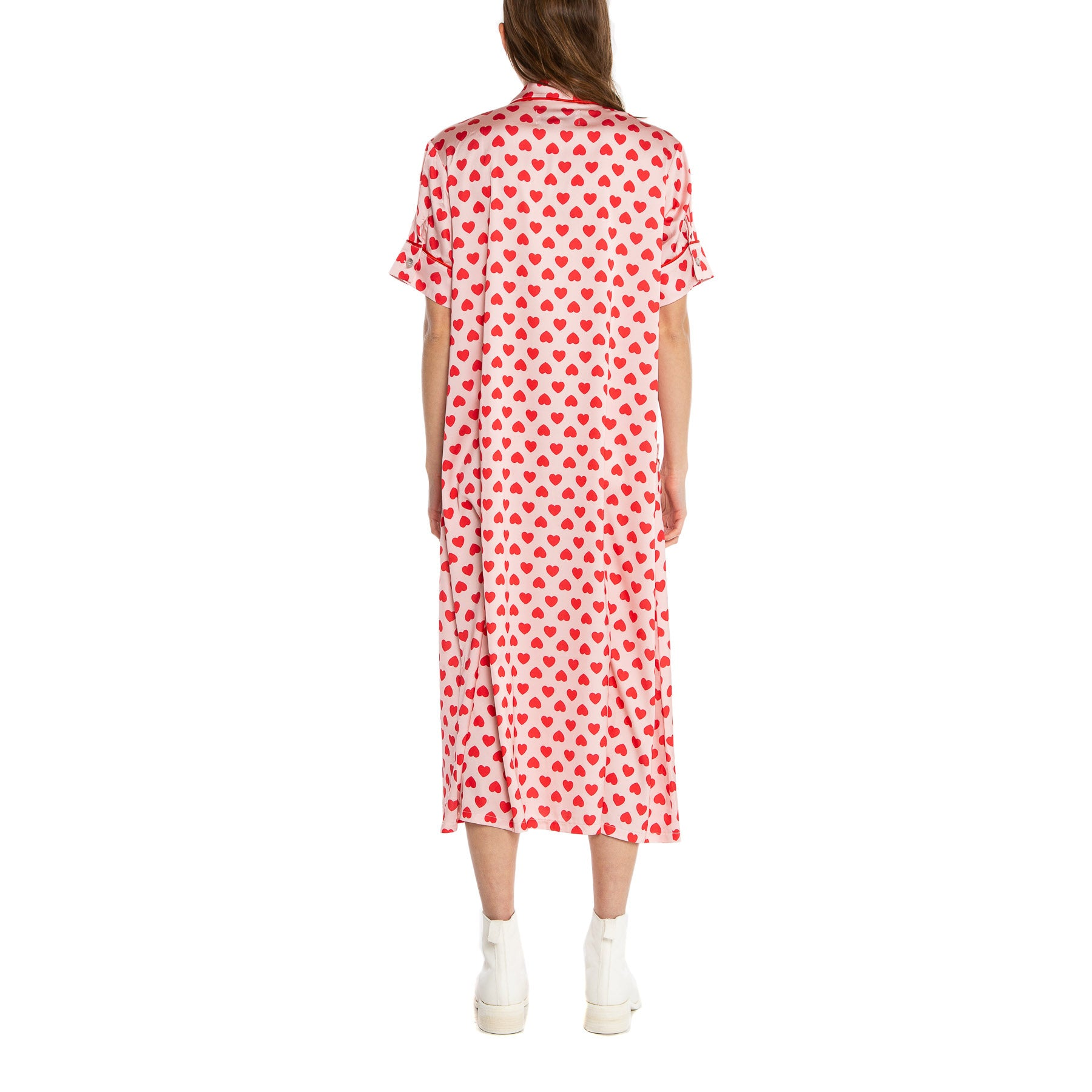 NATASHA ZINKO | RED HEARTS DRESS