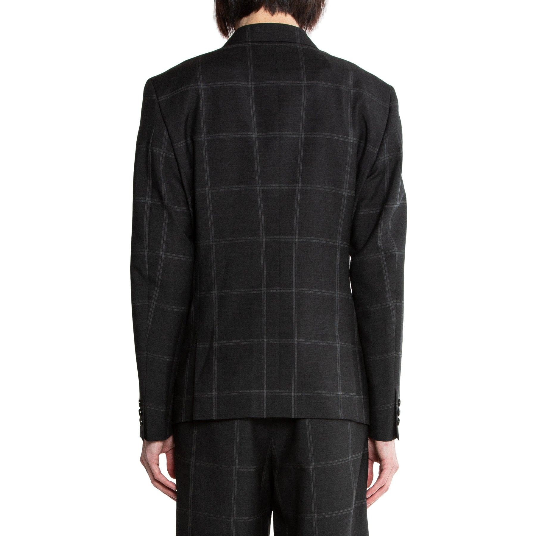 CDG HOMME PLUS | CHECKED SUIT JACKET