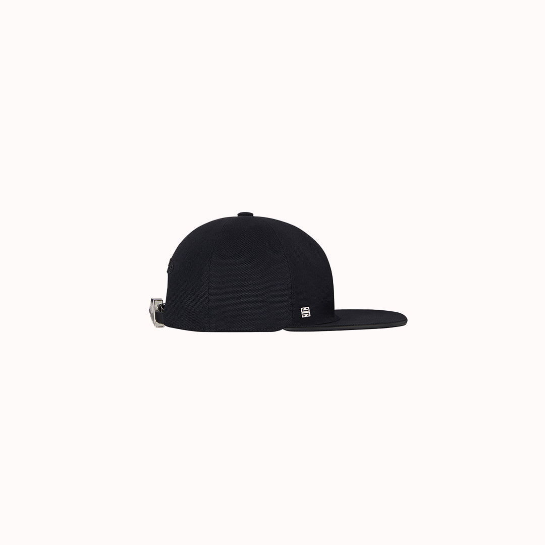 GIVENCHY | LOCK DETAIL FLAT CAP