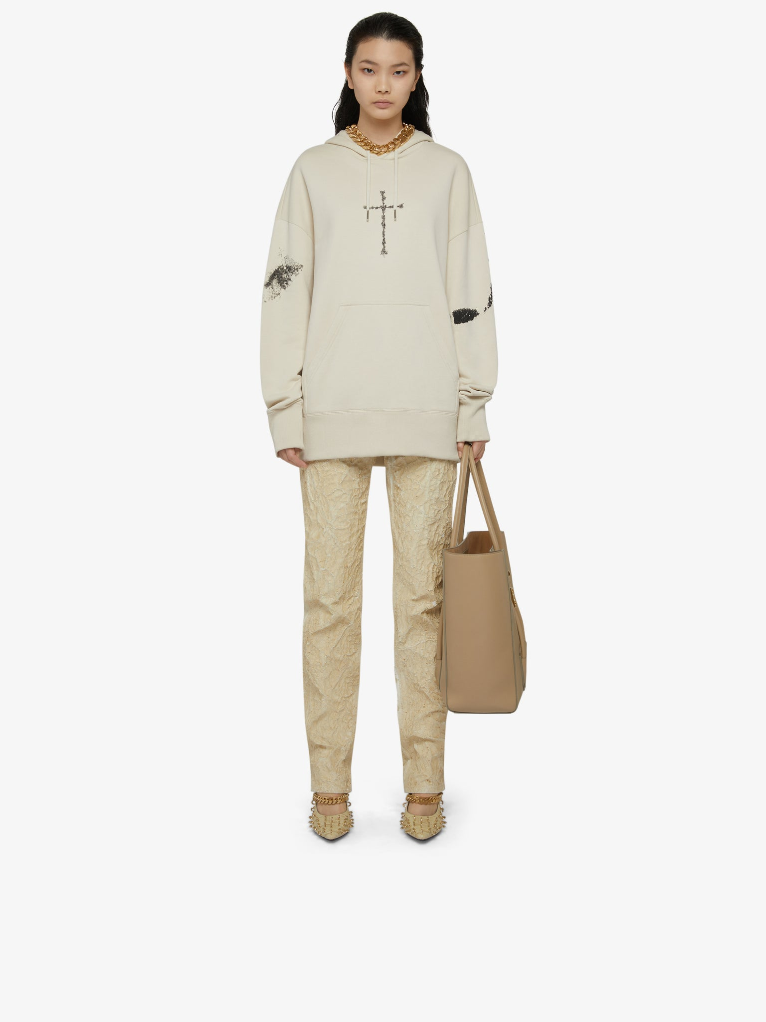 GIVENCHY | OVERSIZED GRAPHIC HOODIE
