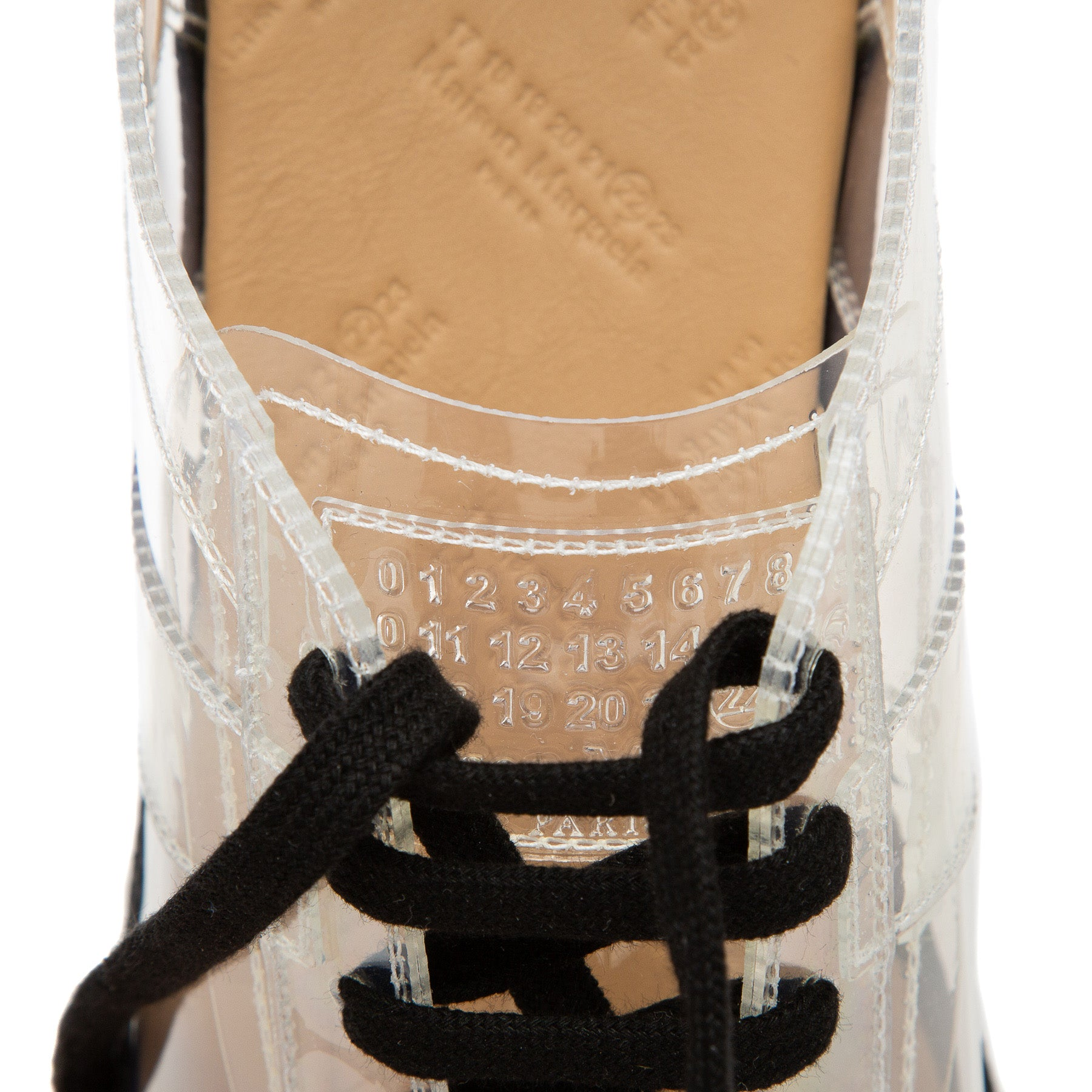 MAISON MARGIELA | CLEAR REPLICA SNEAKERS