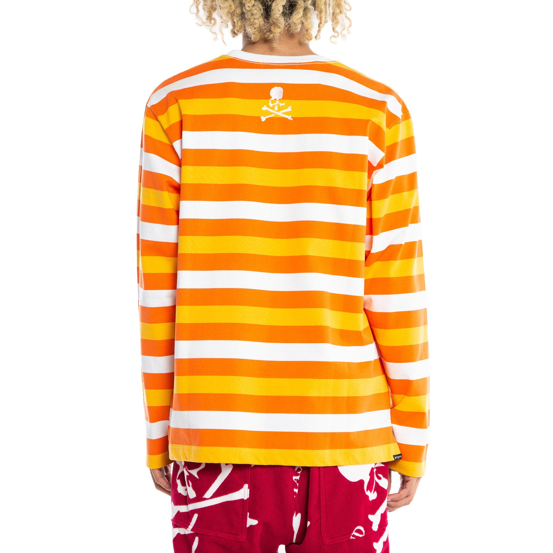 MASTERMIND | STRIPED LONG SLEEVE TEE