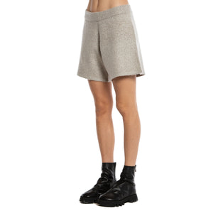 FRENCKENBERGER | FELTED LONG KNIT SHORTS