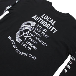 LOCAL AUTHORITY | Skull O Long Sleeve Tee High End Brands