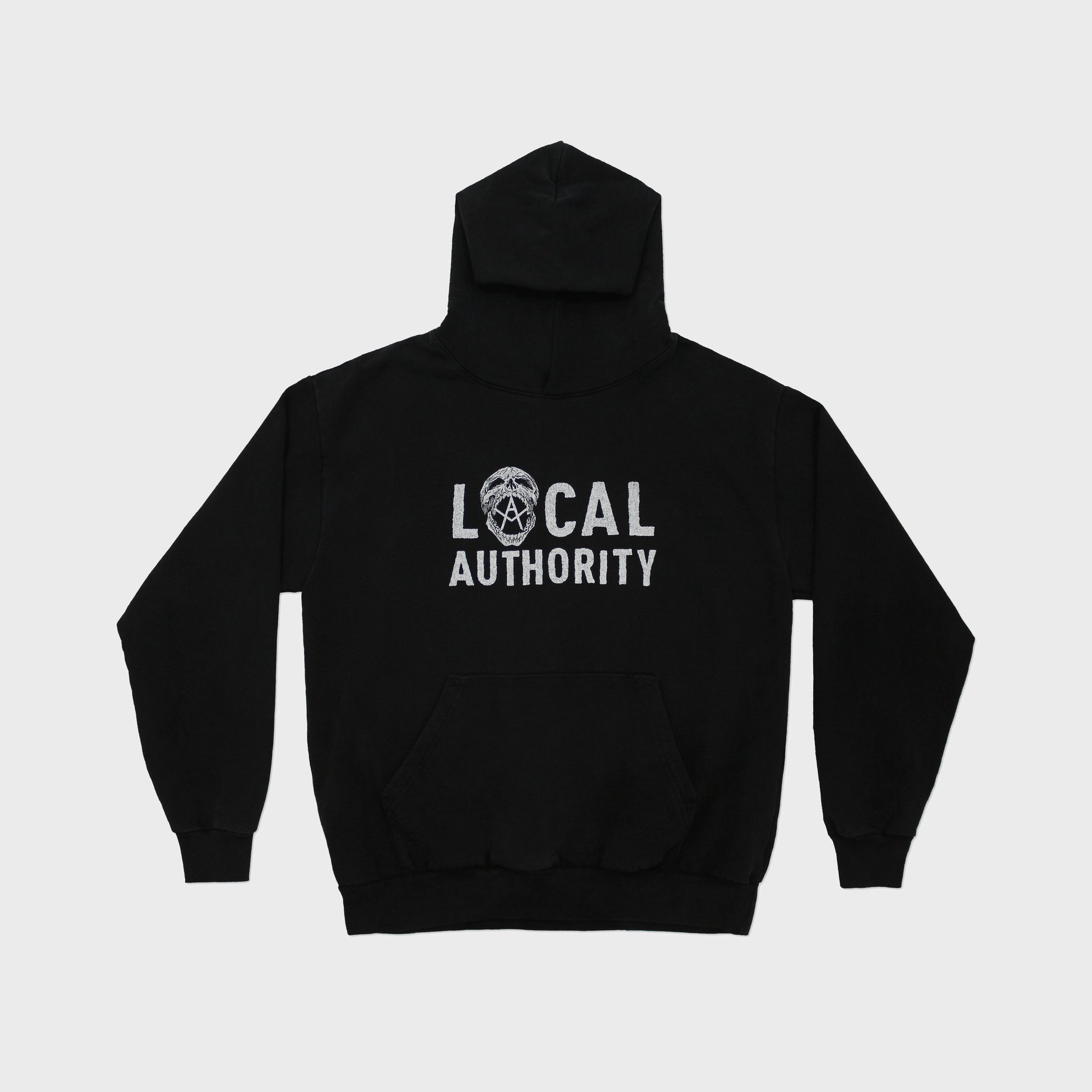LOCAL AUTHORITY | Skull O Hooded Fleece High End Men's Clothing