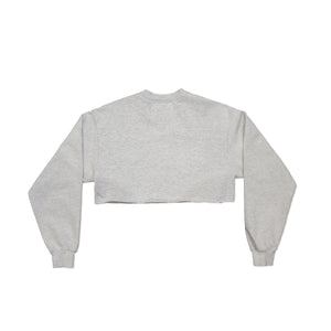 LOCAL AUTHORITY | LA SLASH CROP CREWNECK FLEECE