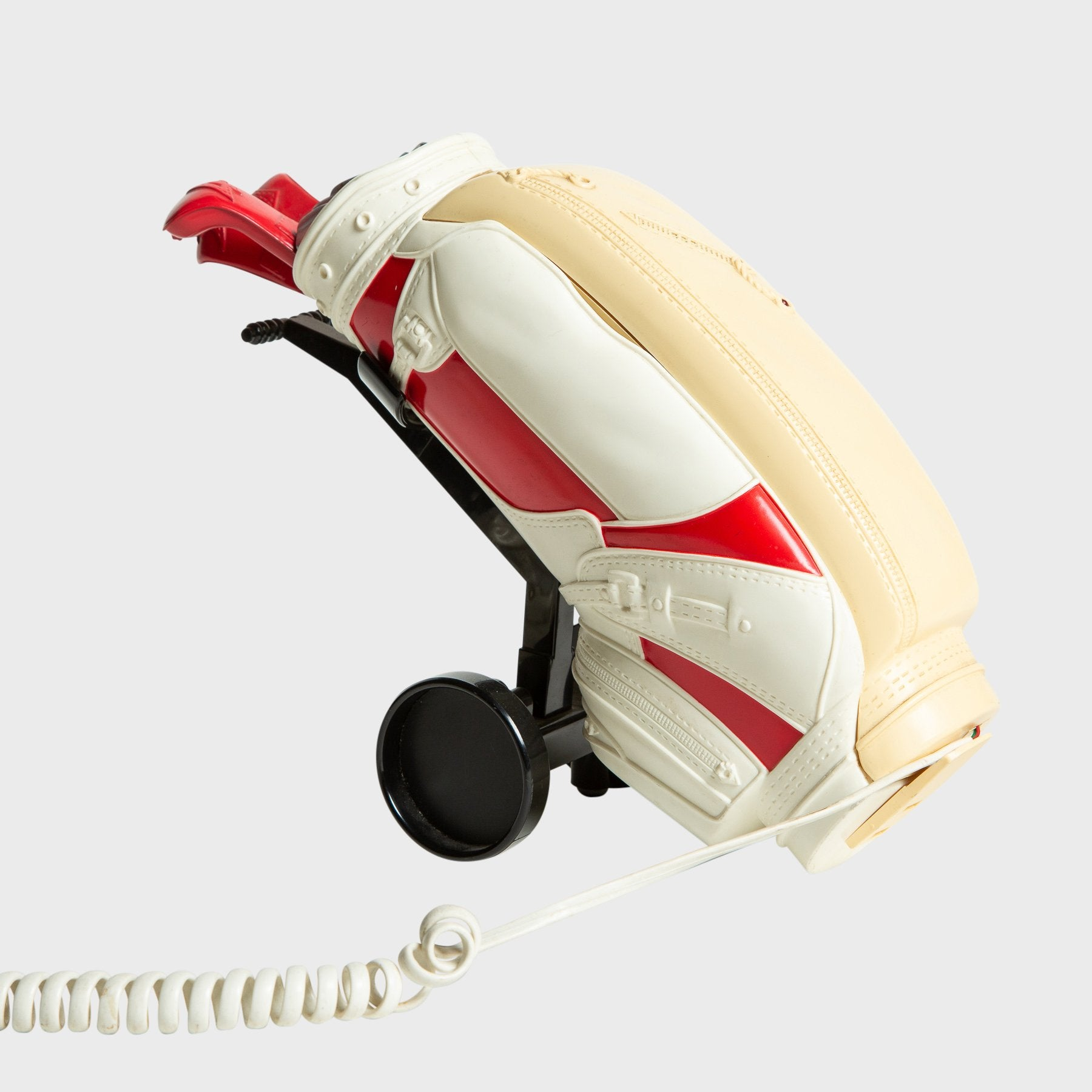 MAXFIELD PRIVATE COLLECTION | 1980'S RED GOLF MOTIF PHONE