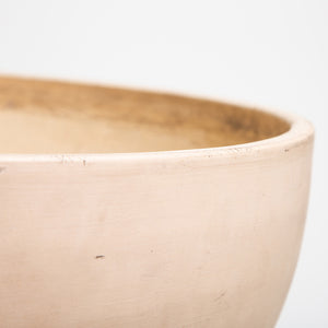 MAXFIELD COLLECTION  | 1950'S ARCHITECTURAL POTTERY BOWL WITH METAL STAND