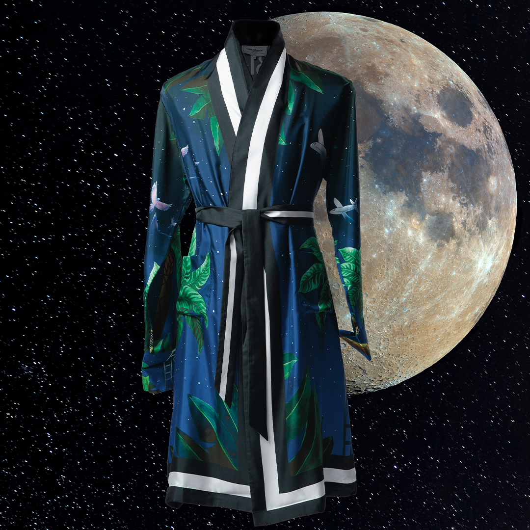 CASABLANCA | TENNIS CLUB AT MIDNIGHT LIMITED EDITION ROBE