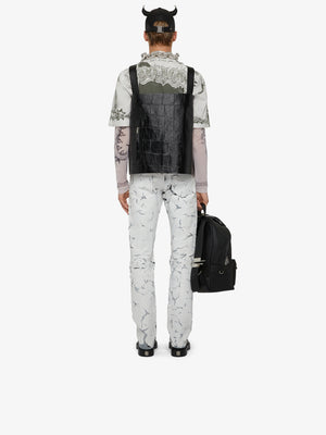 GIVENCHY | PRINTED SHORT SLEEVE SHIRT