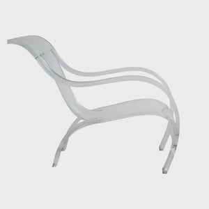 MAXFIELD PRIVATE COLLECTION | 1970'S GERALD SUMMERS LUCITE CHAIR