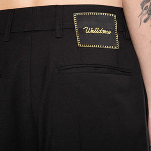 WE11DONE | EMBROIDERY WORK PANTS
