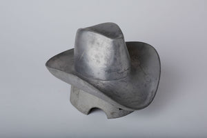 MAXFIELD PRIVATE COLLECTION  | 1970'S FRENCH COWBOY  HAT MOLD