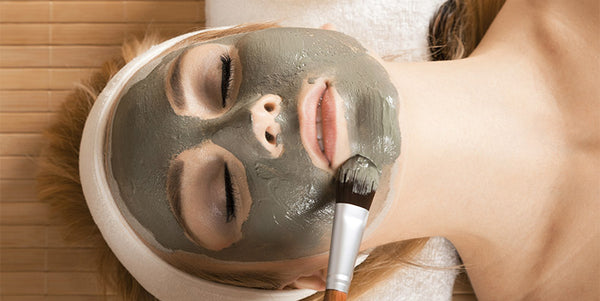 Clay detox mask with AHA gentle resurfacing exfoliating mask to lift and brighten fatigued, dull, rough skin