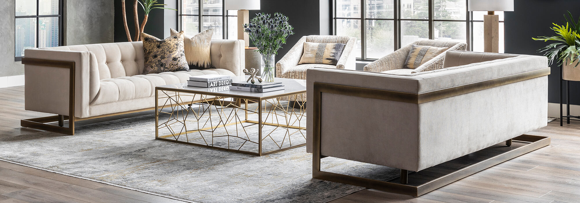 Modern, Eclectic Living Room Furniture | High Fashion Home
