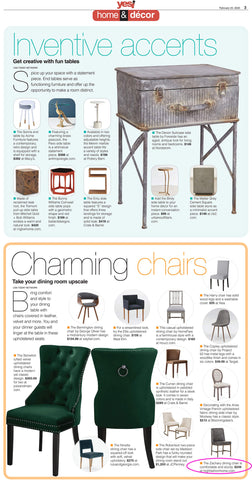 Yes! Zachary Dining Chairs