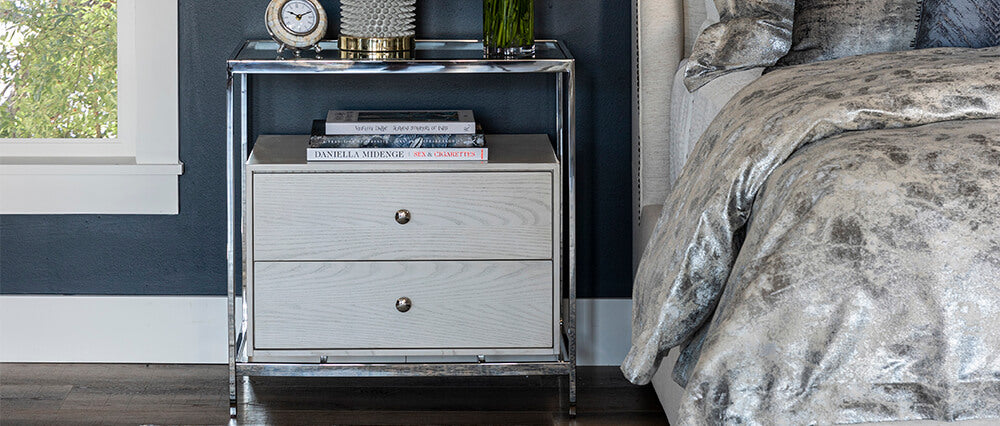 Modern Nightstands Bedroom End Tables High Fashion Home