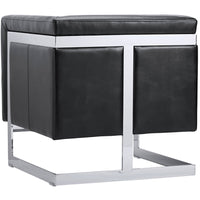 Soho Leather Armchair Black - Furniture - Chairs - Leather