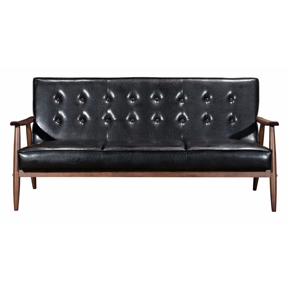 Rocky Sofa, Black - Furniture - Sofas - High Fashion Home