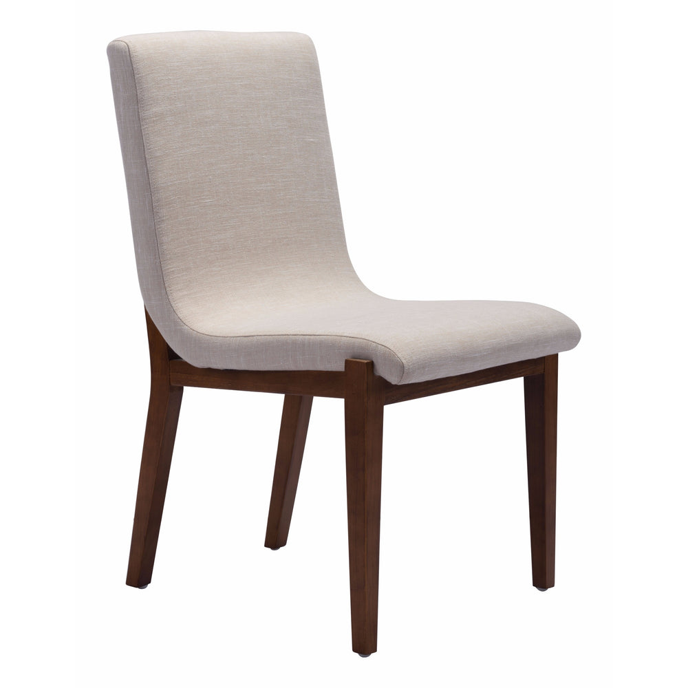 Hamilton Dining Chair, Beige (Set of 2) - Furniture - Dining - Chairs & Benches