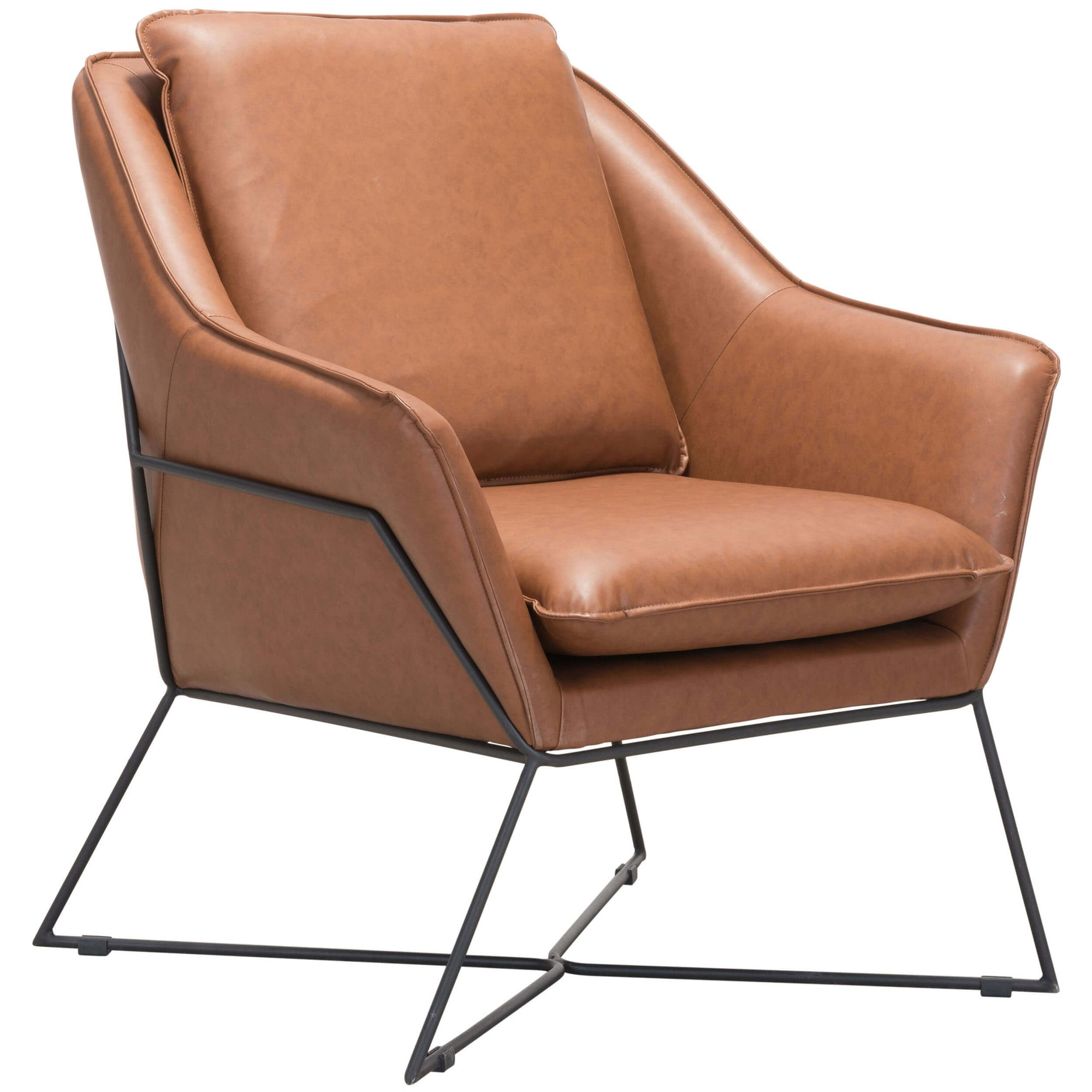 Awesome Lincoln Lounge Chair Saddle High Fashion Home Dailytribune Chair Design For Home Dailytribuneorg