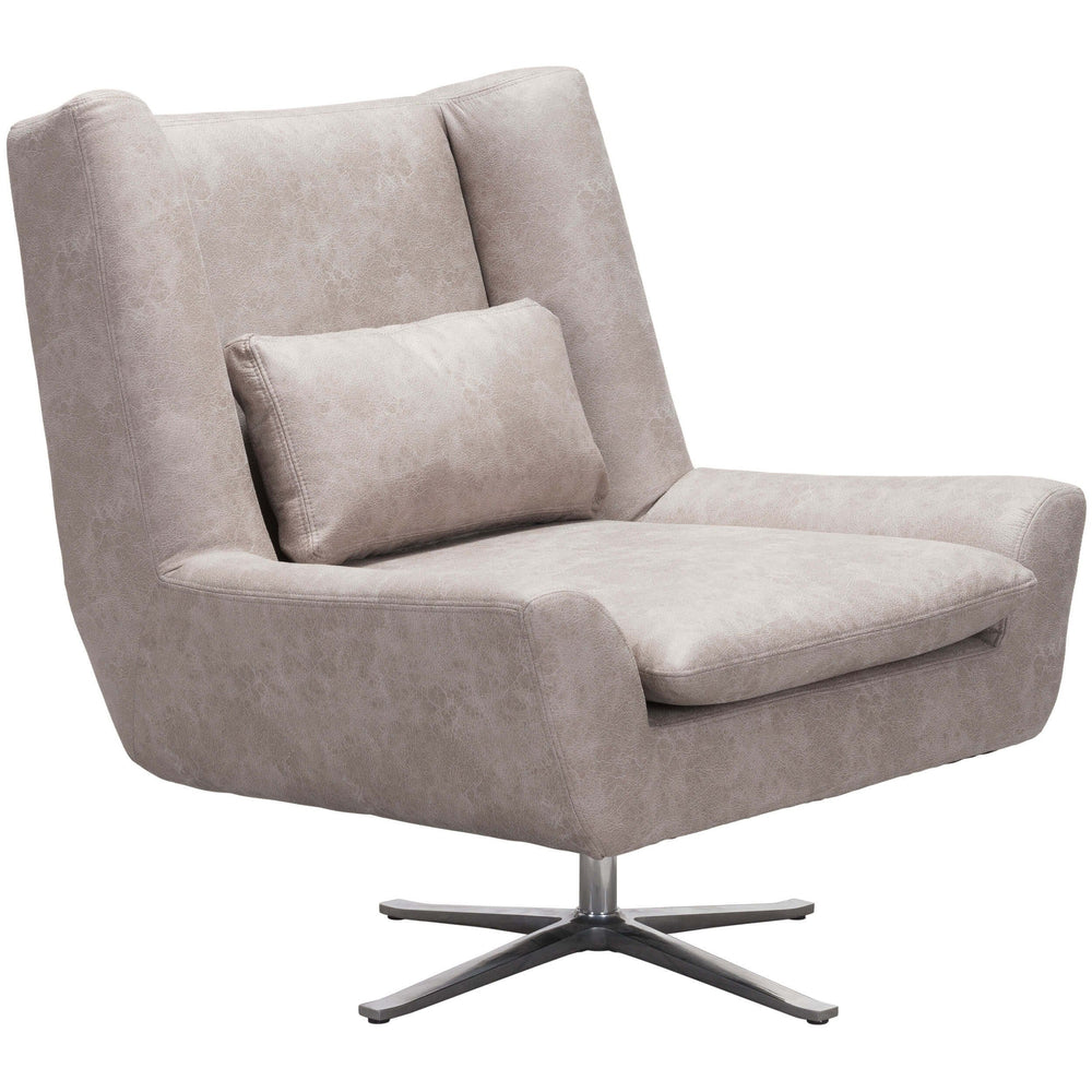 Enzo Chair, Distressed Gray - Furniture - Zuo Modern