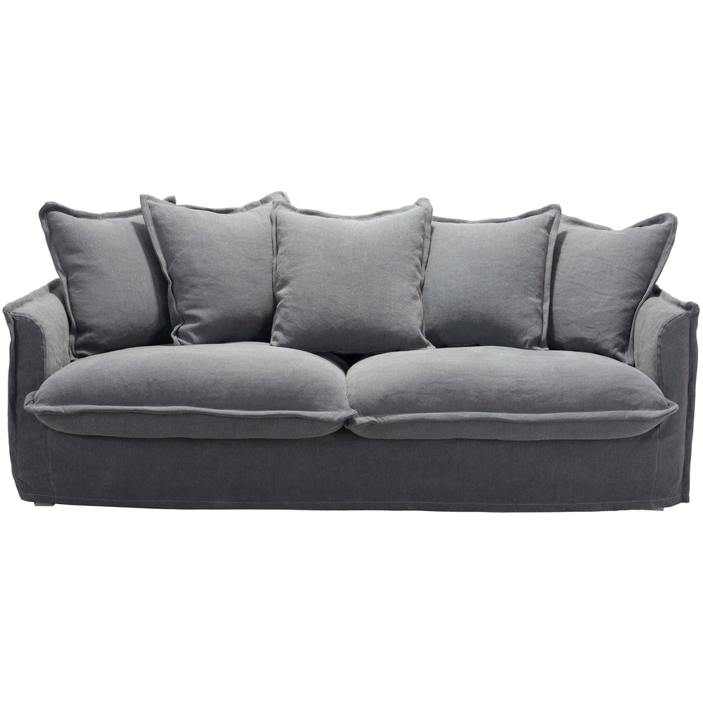 Livingston Sofa, Charcoal Gray - Furniture - Sofas - High Fashion Home