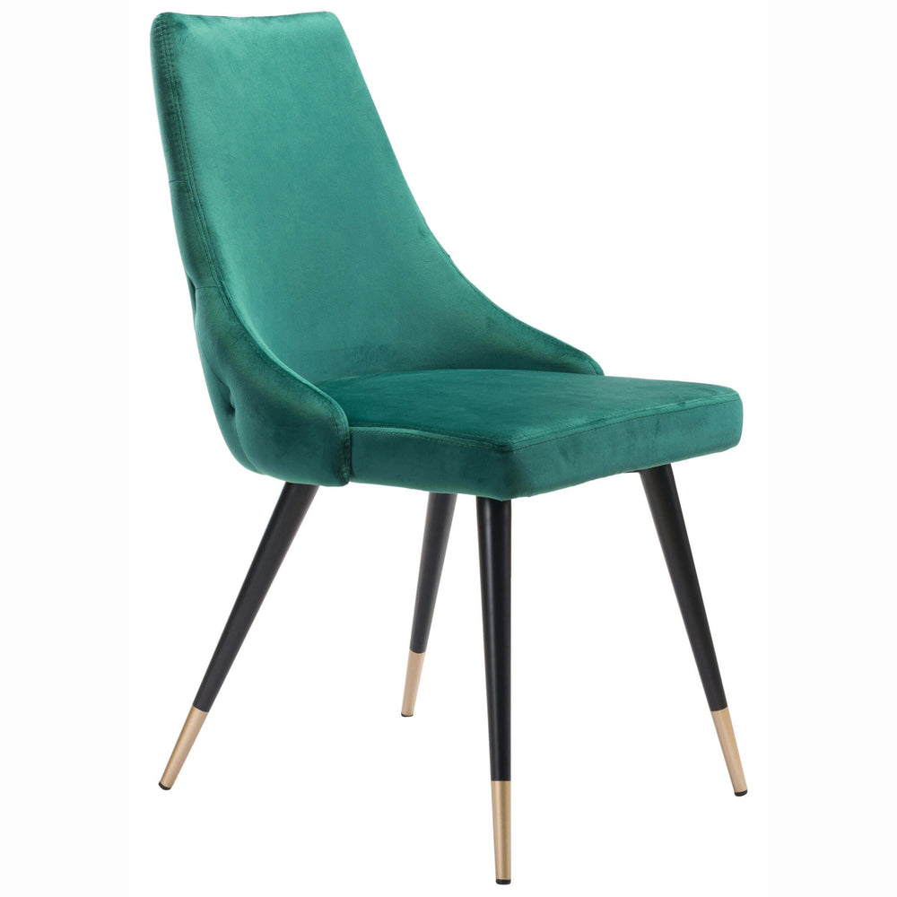 Piccolo Dining Chair, Green (Set of 2) - Furniture - Chairs - High Fashion Home