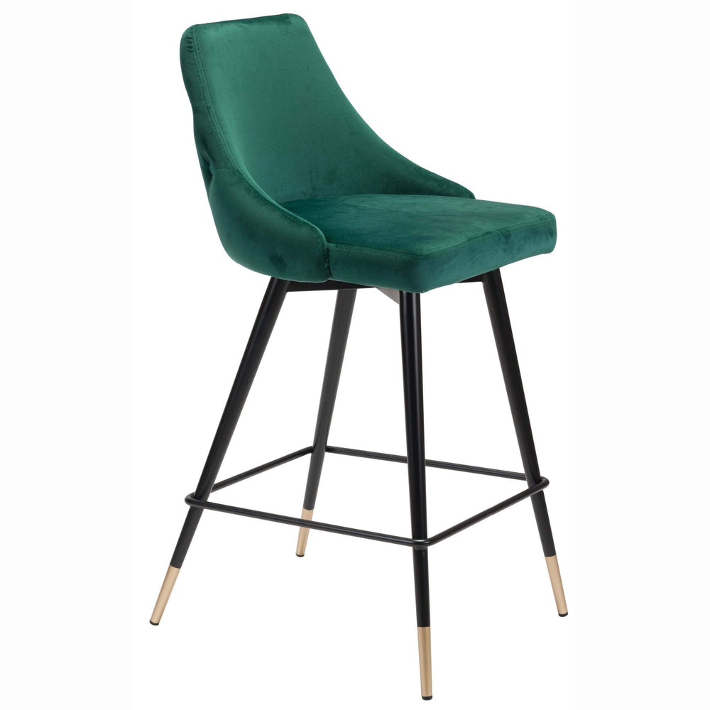Piccolo Counter Chair, Green - Furniture - Dining - Dining Stools