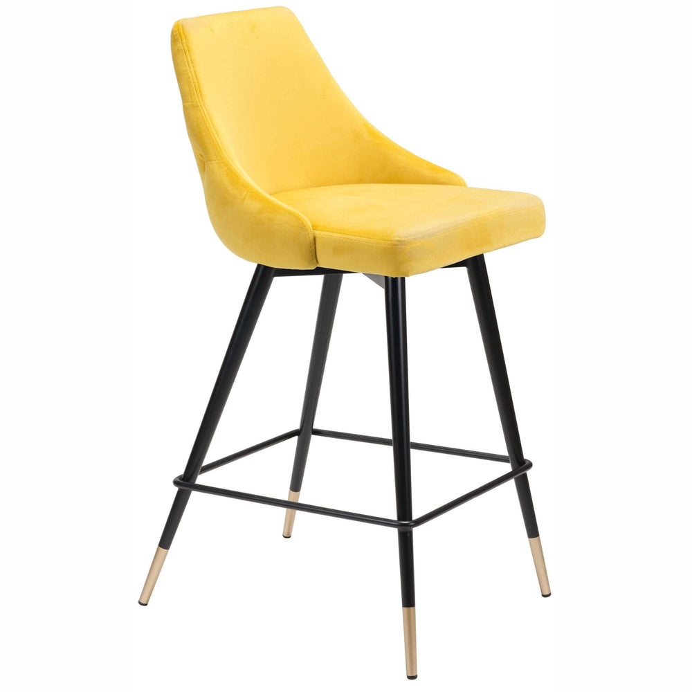 Piccolo Counter Chair, Yellow - Furniture - Dining - Dining Stools