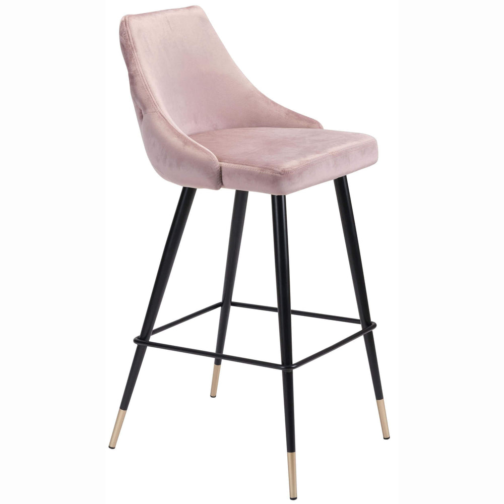 Piccolo Bar Chair, Pink - Furniture - Dining - Dining Stools