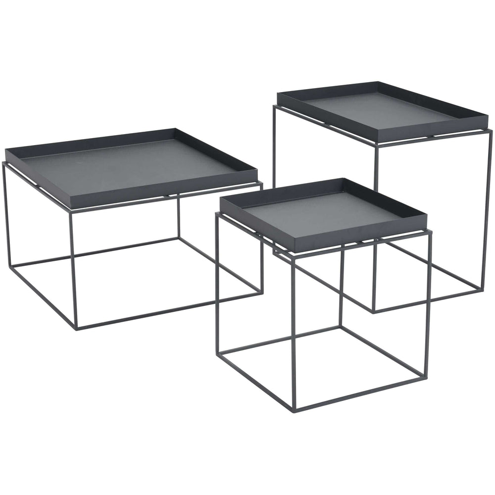 Gaia Bunching Table, Black - Furniture - Accent Tables - High Fashion Home