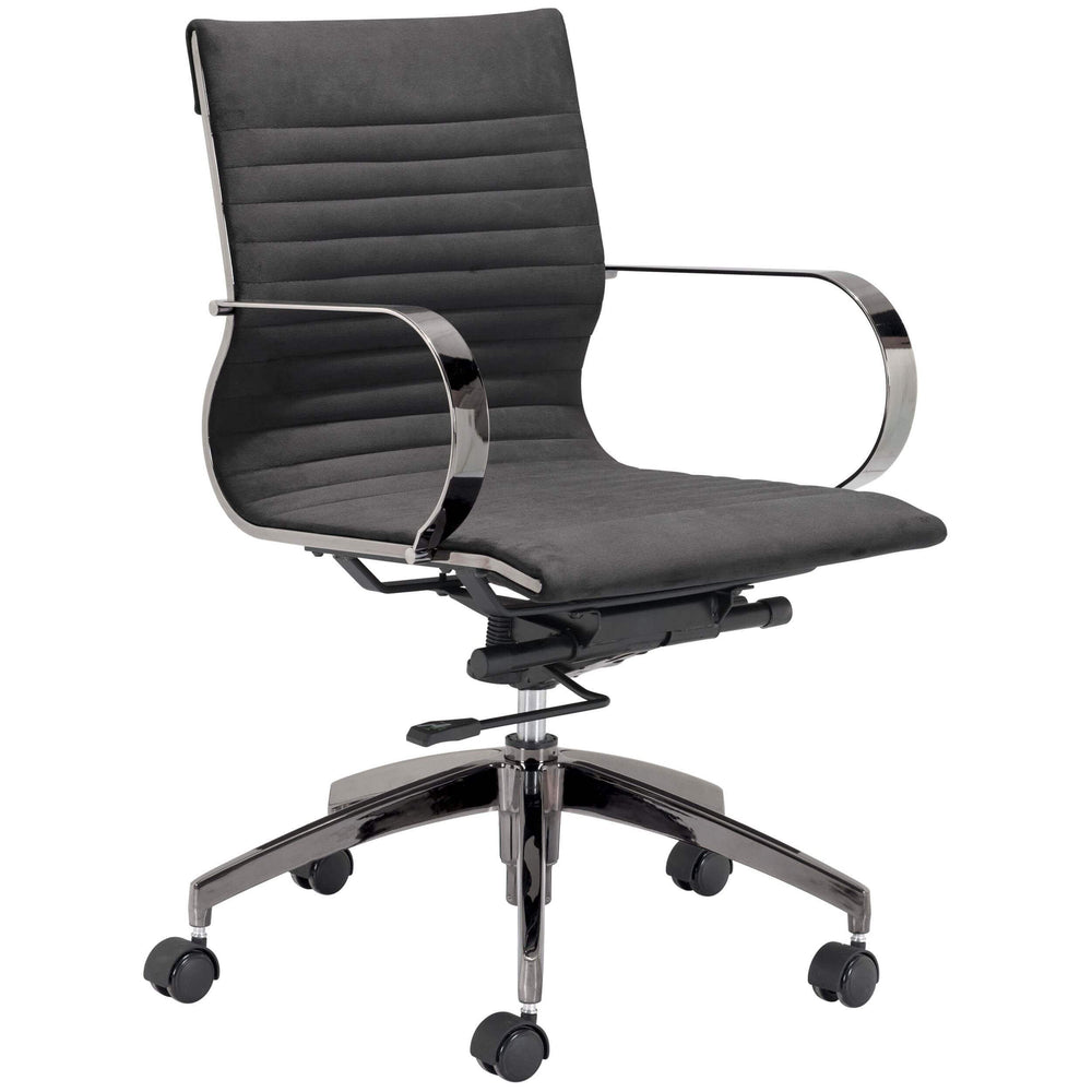 Kano Office Chair, Gray - Furniture - Chairs - High Fashion Home