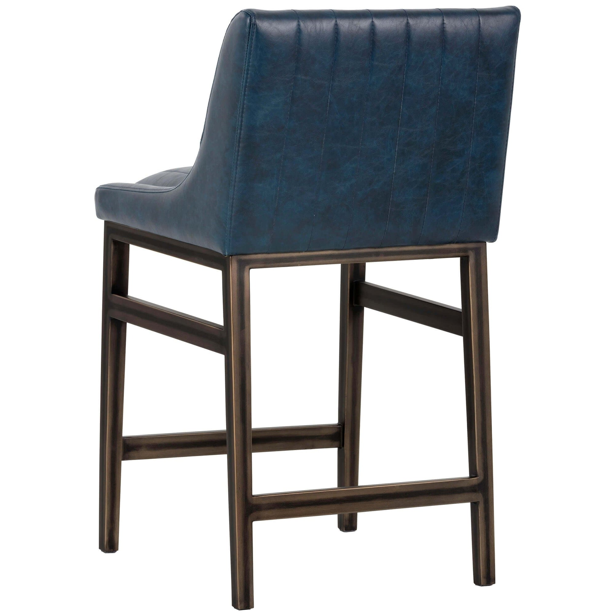 Superb Halden Counter Stool Vintage Blue High Fashion Home Spiritservingveterans Wood Chair Design Ideas Spiritservingveteransorg