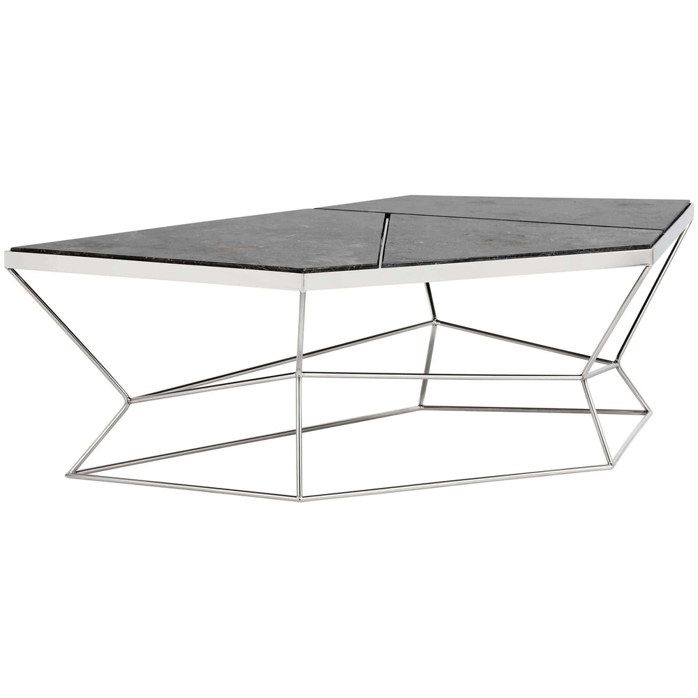 Nathaniel Coffee Table, Marble - Modern Furniture - Coffee Tables - High Fashion Home