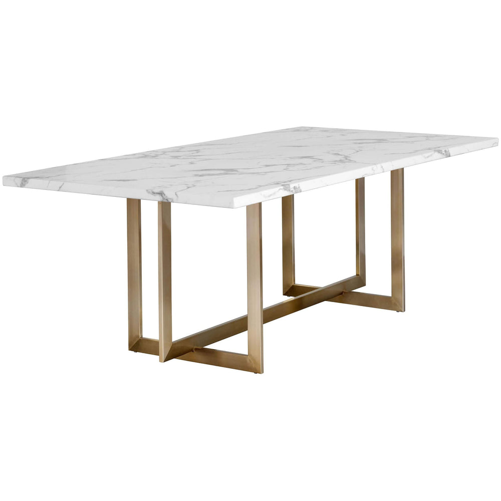 Rosellen Dining Table - Modern Furniture - Dining Table - High Fashion Home