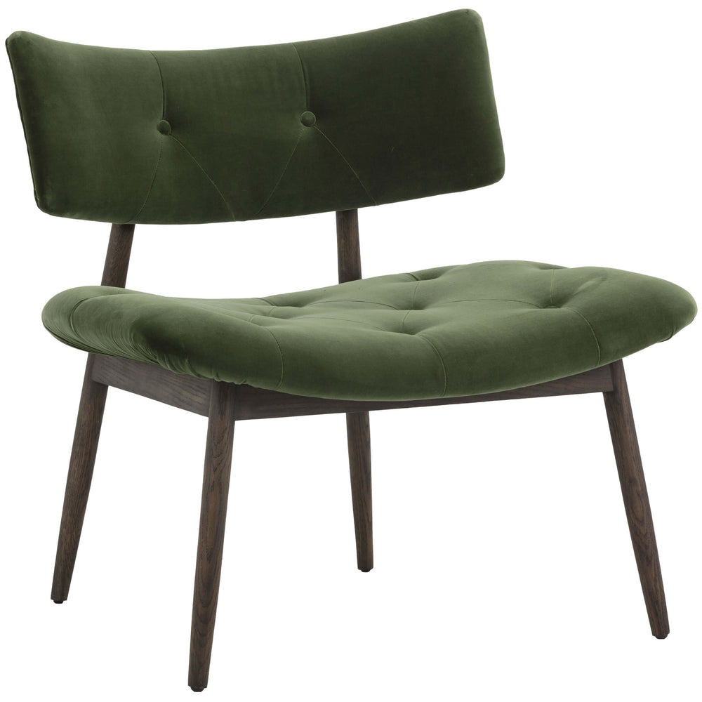Marit Lounge Chair, Forest Green
