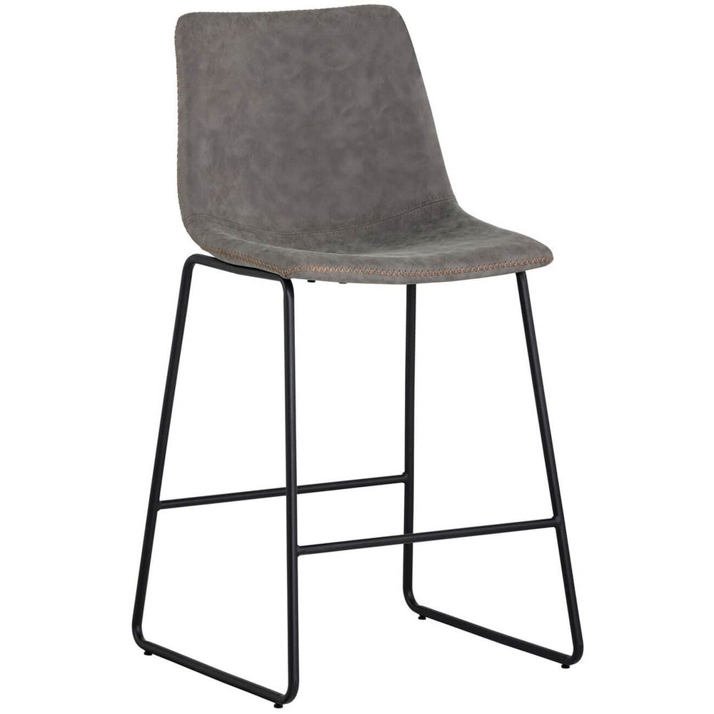 Cal Counter Stool (Set of 2) - Furniture - Chairs - High Fashion Home