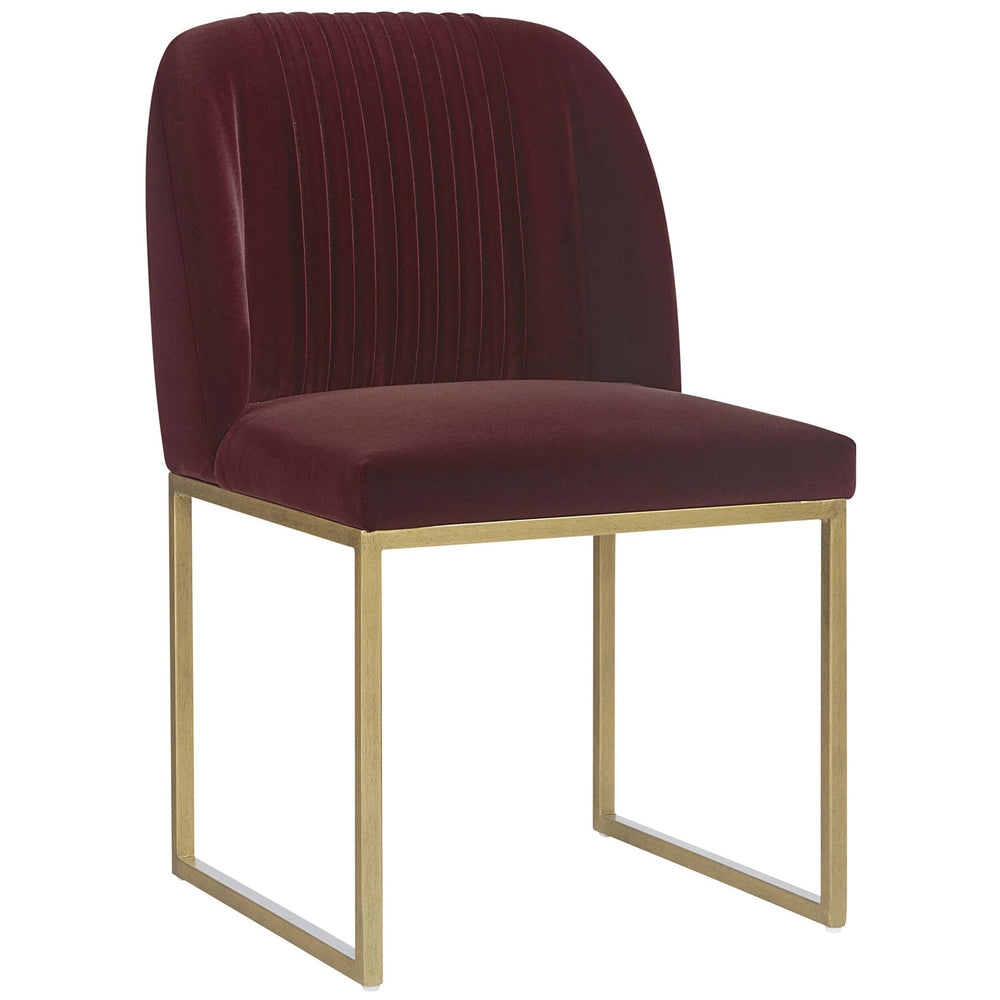 Nevin Dining Chair, Merlot (Set of 2) - Furniture - Dining - High Fashion Home