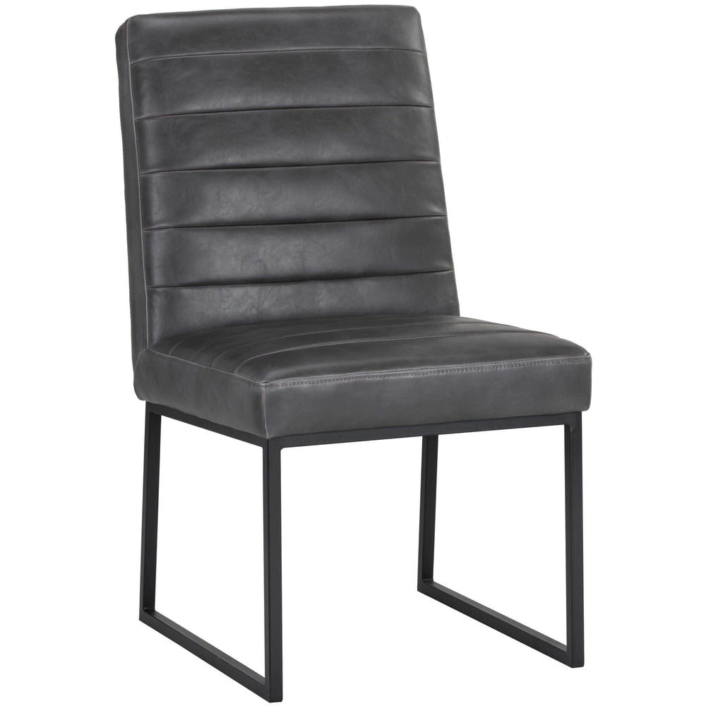 Spyros Dining Chair, Overcast Grey - Furniture - Dining - High Fashion Home