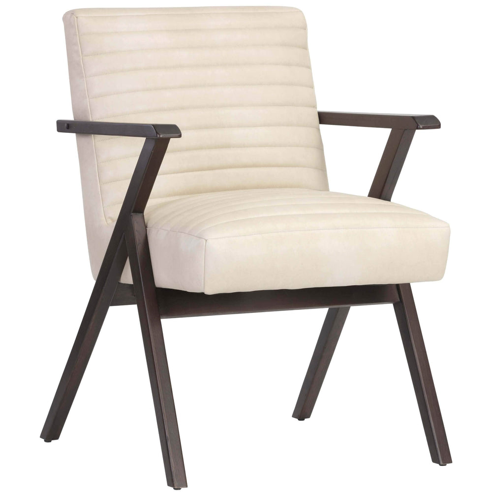 Peyton Arm Chair, Bravo Cream - Modern Furniture - Accent Chairs - High Fashion Home