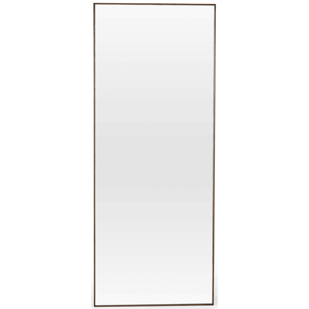 Bellvue Floor Mirror, Spiced Oak-Accessories-High Fashion Home