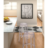 Anime Bar Stool, Transparent - Furniture - Dining - Dining Stools