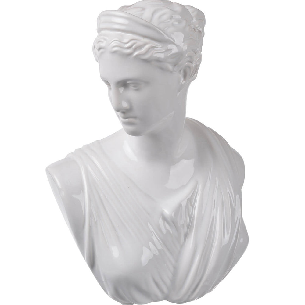 Grecian Female Bust - Accessories - Tabletop - White & Natural